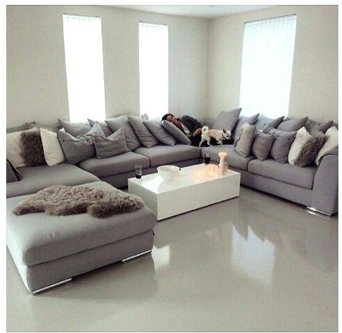 Trendy U Shaped Sectional Sofa – Brokenshaker For Extra Large U Shaped Sectionals (View 8 of 10)