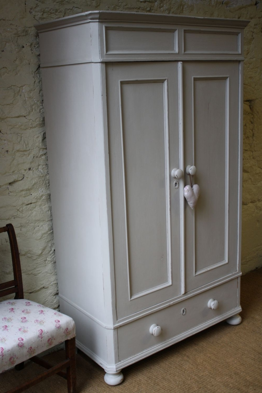 Trendy Victorian Pine Wardrobes Intended For Vintage Pine Wardrobe … (View 10 of 15)