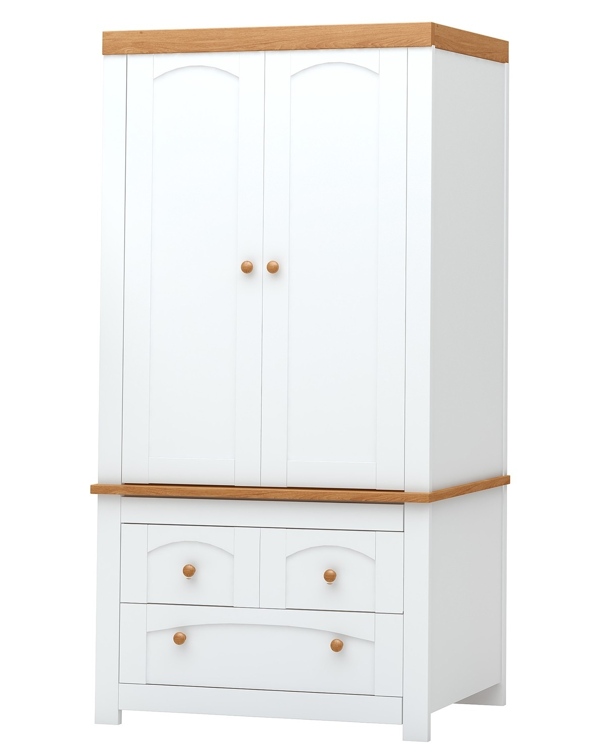 Trendy White Wood Wardrobe Doors Wooden Cupboard Cabinet Sideboard Throughout White Wood Wardrobes (View 9 of 15)