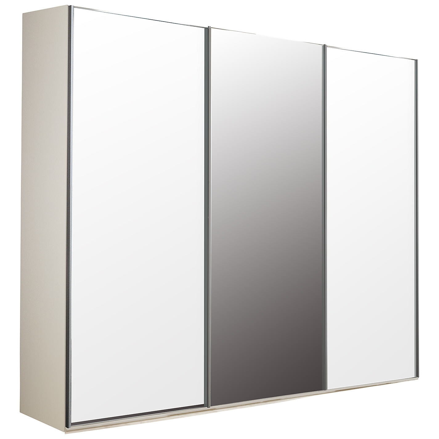 Triple Mirrored Wardrobes Pertaining To Widely Used Mirror Design Ideas: John Lewis Mirror Wardrobes Sliding Doors (View 6 of 15)