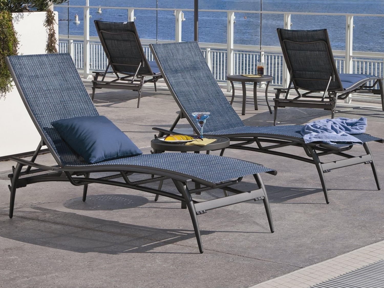Tropitone Regarding Widely Used Tropitone Chaise Lounges (View 3 of 15)