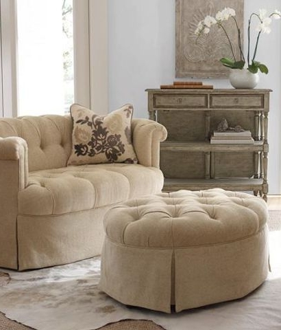Featured Photo of Loveseats With Ottoman