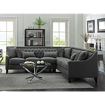 Featured Photo of Tufted Sectional Sofas