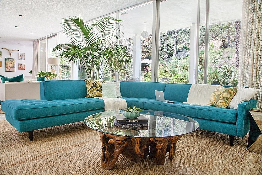Turquoise Sofas Inside Preferred Turquoise Sofa Living Room — Awesome Homes : Best Ideas Turquoise (View 6 of 10)