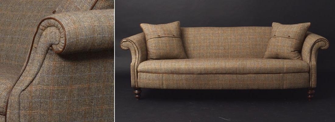 Tweed Fabric Sofas Pertaining To Favorite Harris Tweed Sofas (View 7 of 10)