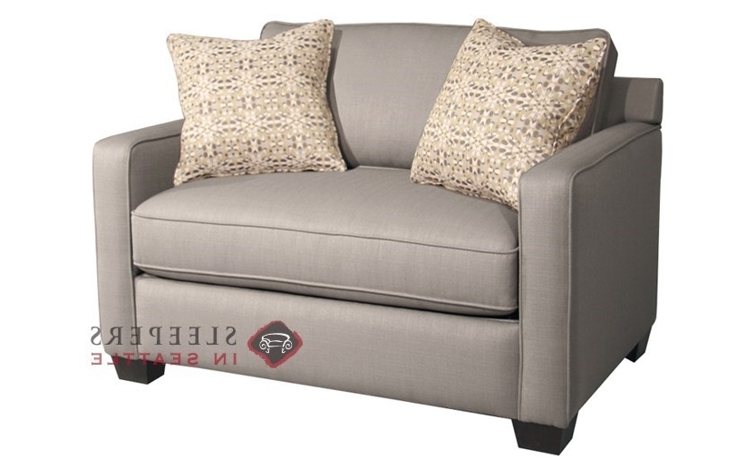 Twin Sofa Chairs Within Well Liked Twin Sleeper Sofa Chair – Visionexchange (View 10 of 10)