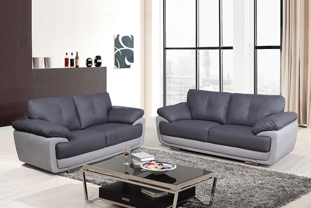 Two Tone Sofas Inside 2017 Hilton 32 Seater Sofa – Two Tone Grey – We Do Sofas (View 3 of 10)