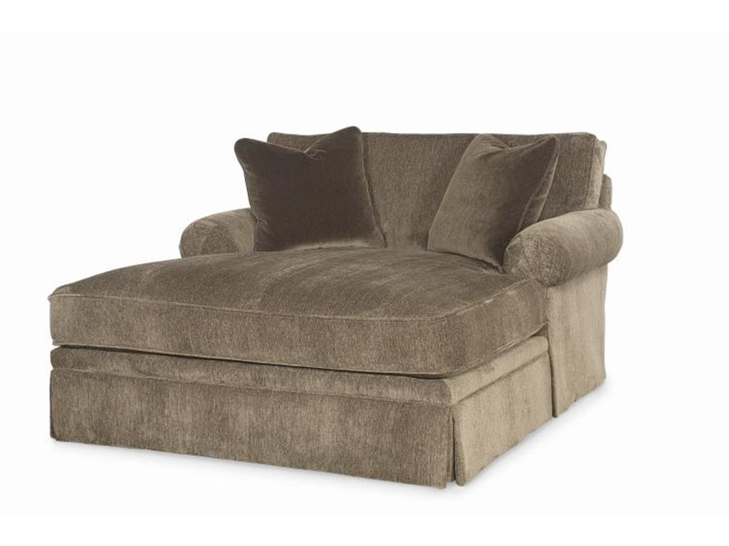 Upholstered Chaise Lounge Chairs Pertaining To Most Recently Released Oversized Gray Chaise Lounge Chair Slipcover For Bedroom And (Gallery 15 of 15)