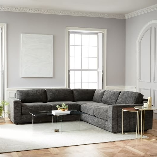 Urban 3 Piece Sectional (Gallery 9 of 10)