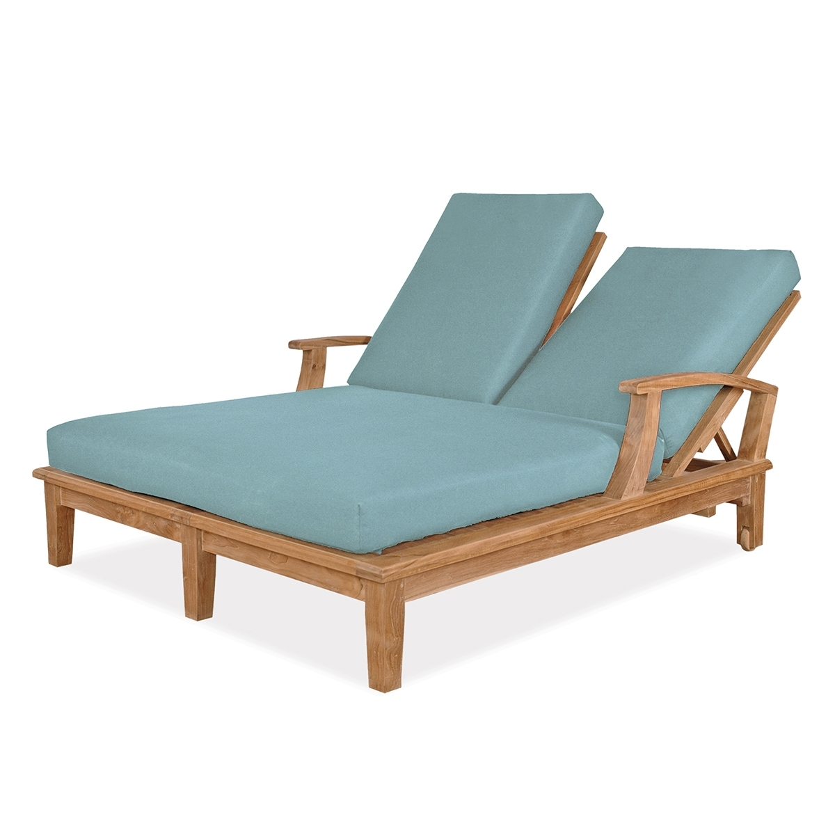 Veranda Collection In Fashionable Outdoor Double Chaise Lounges (Gallery 1 of 15)