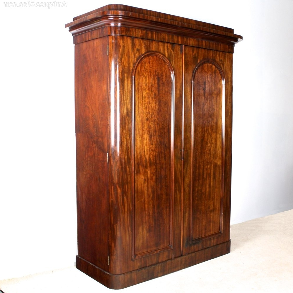 Victorian Wardrobes For Most Recent Victorian Mahogany Wardrobewylie & Lochhead – Antiques Atlas (View 12 of 15)