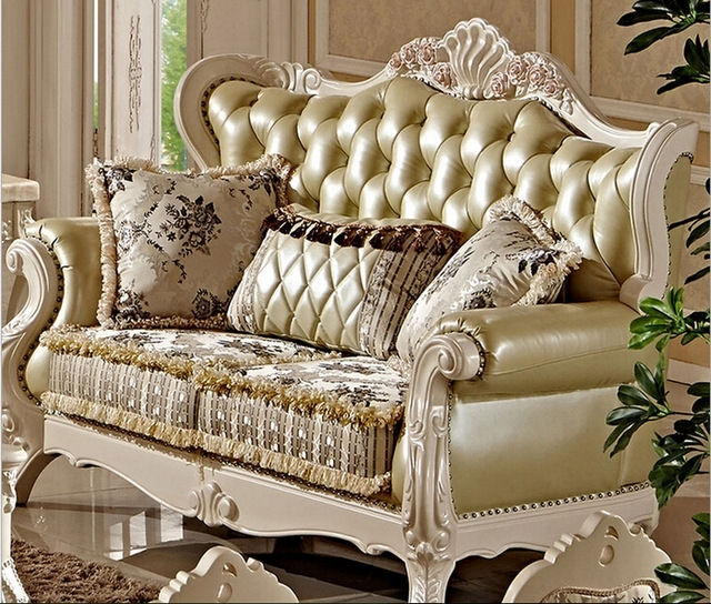 Villa Antique Sofa Set Designs Fc8800 In Living Room Sofas From With Fashionable Antique Sofas (View 3 of 15)