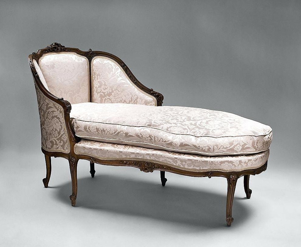 Vintage Chaise Lounge Chair Indoor • Lounge Chairs Ideas Within Famous Antique Chaise Lounges (Gallery 14 of 15)