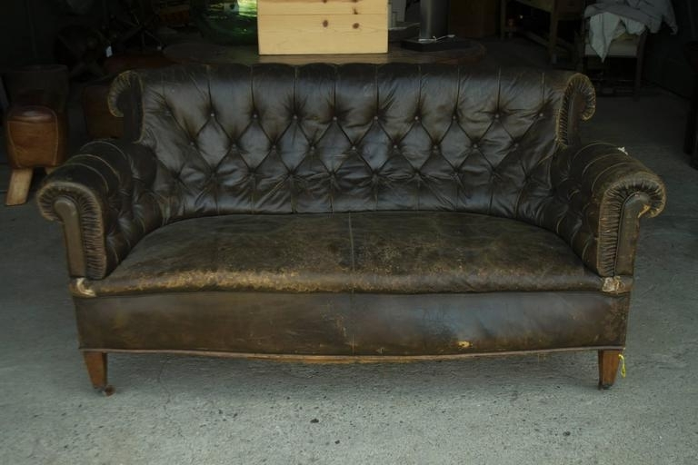 Vintage Chesterfield Sofas In Most Up To Date Leather Chesterfield Sofa For Sale At 1Stdibs (Gallery 1 of 10)