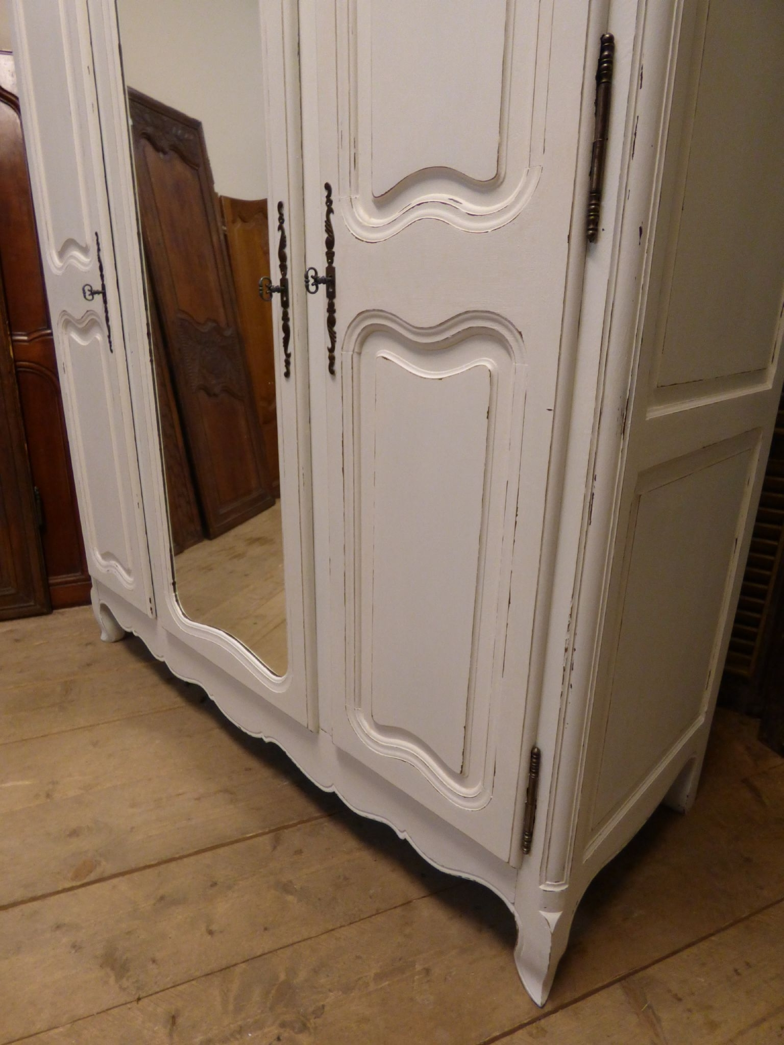 Vintage French Armoire – French Wardrobe  Just In – Ca110 – Sold Inside Most Recently Released Vintage French Wardrobes (View 12 of 15)