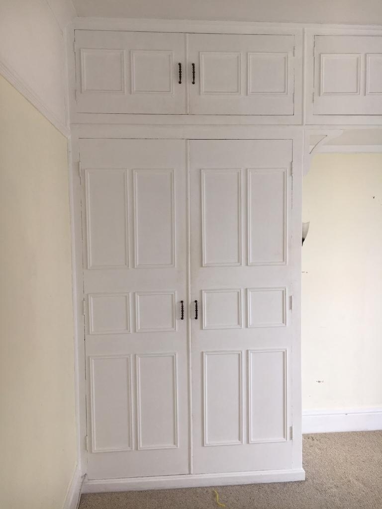 Vintage Shabby Chic Wardrobes In Recent Shabby Chic Vintage Retro Fitted Wardrobe Doors (View 11 of 15)