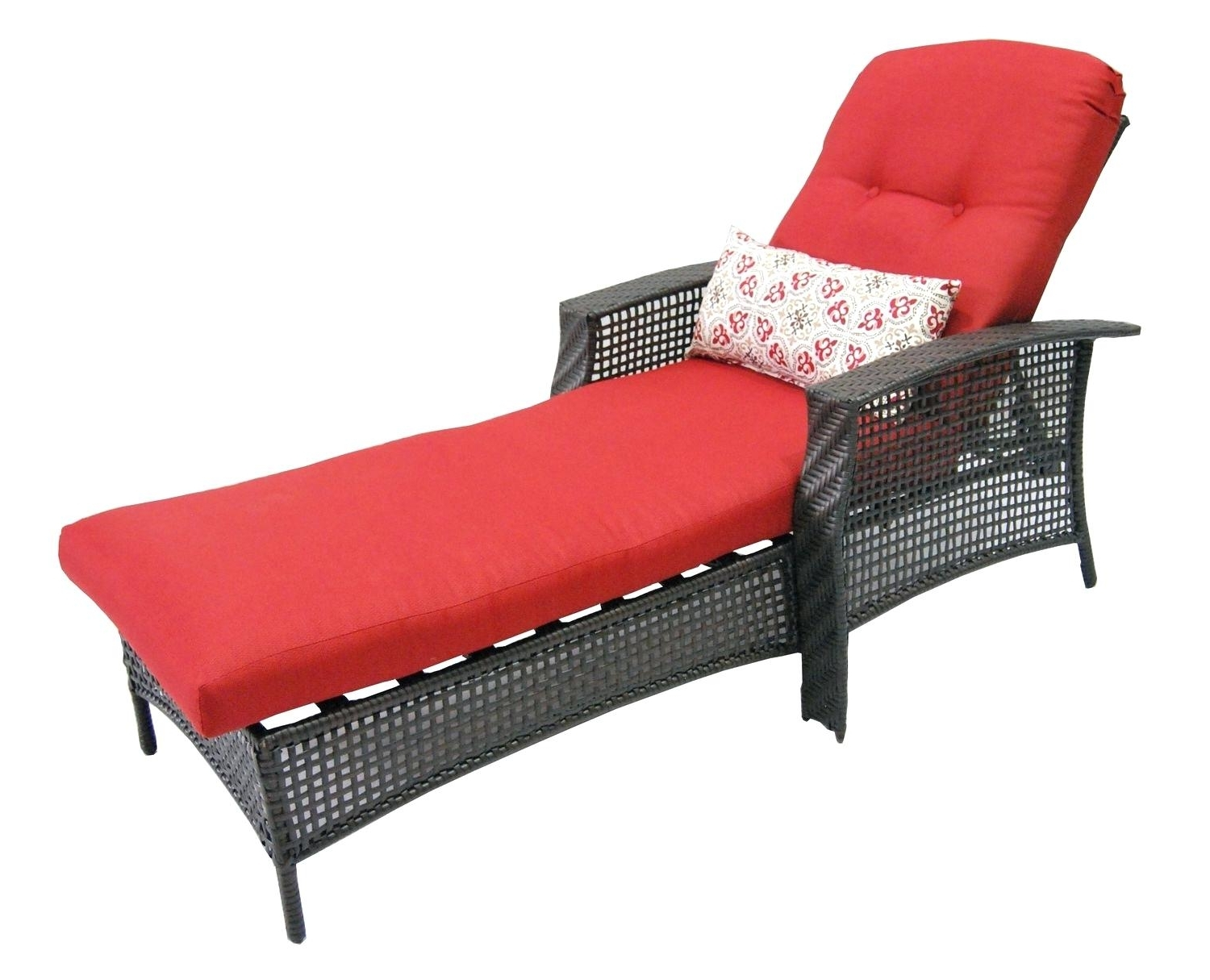 Walmart Chaise Lounge Cushions Double Cushion Outdoor Patio Pertaining To Well Liked Walmart Chaise Lounge Cushions (View 4 of 15)