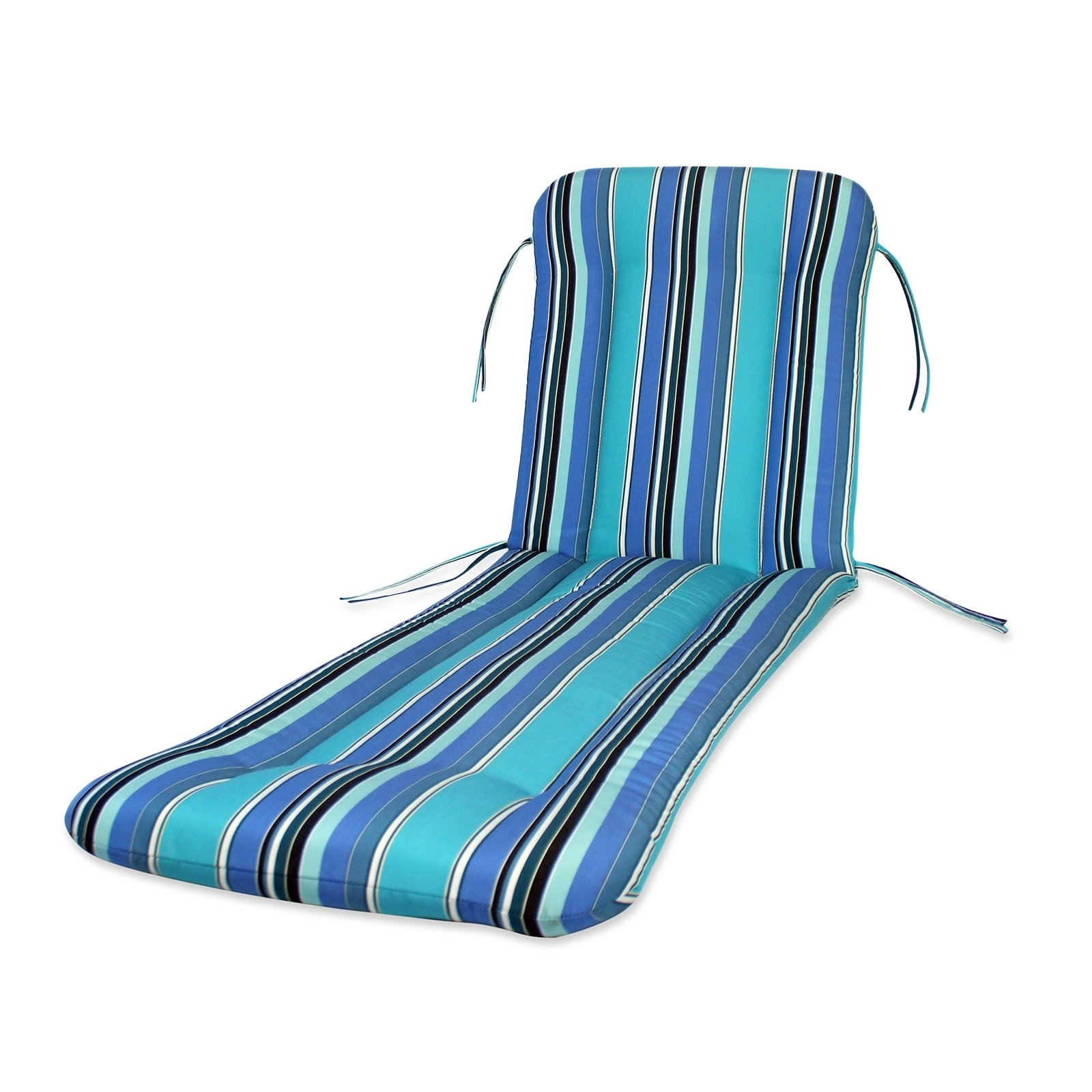 Walmart Chaise Lounge Cushions Within Latest Comfort Classics Sunbrella Chaise Lounge Cushion – Walmart (View 11 of 15)