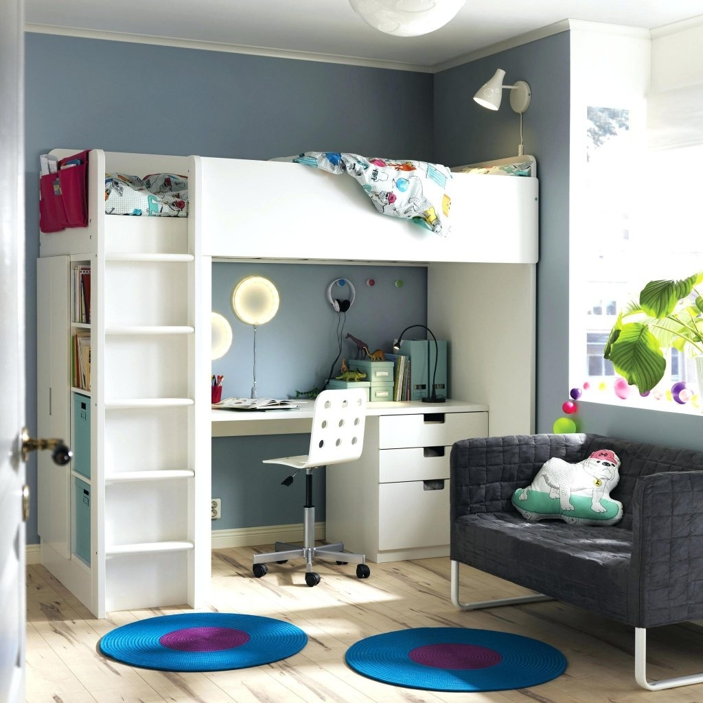 Wardrobes Chest Of Drawers Combination With Widely Used Loft Beds ~ Loft Bed With Wardrobe A Room White Combination That (View 14 of 15)