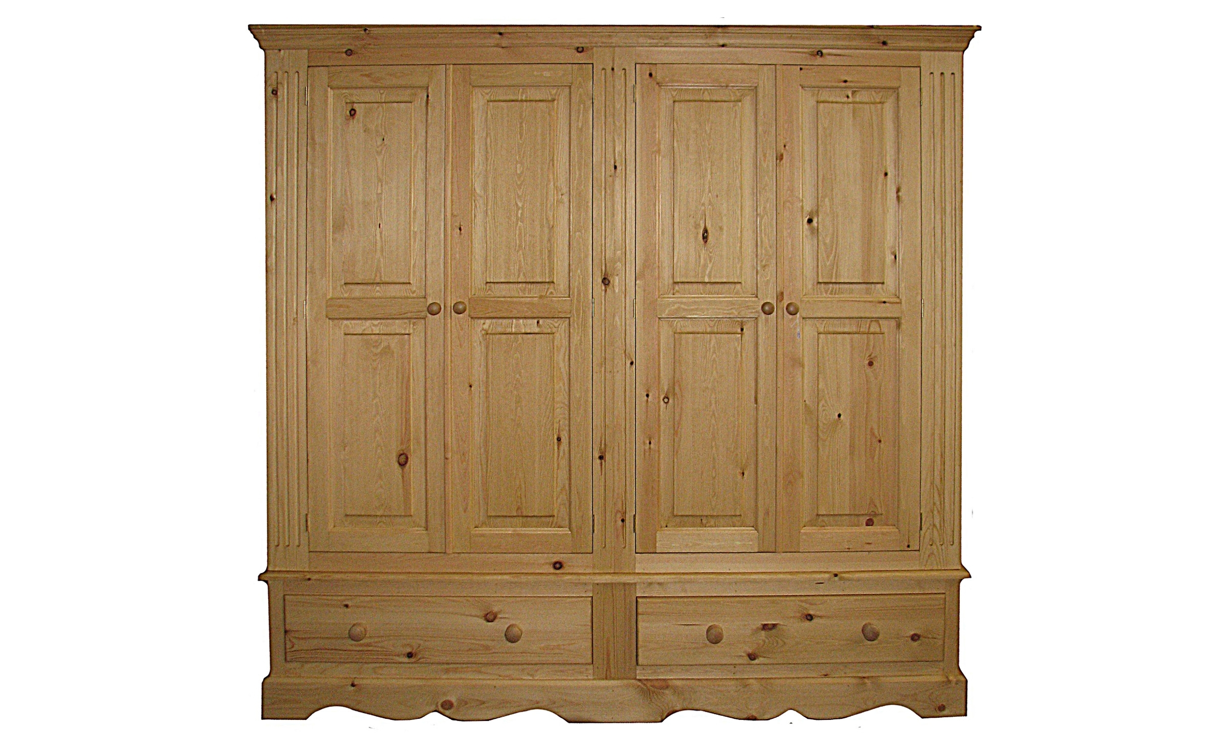 Wardrobes – Kerris Farmhouse Pine Pertaining To Most Recent Single Door Pine Wardrobes (View 10 of 15)