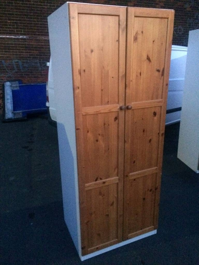 Wardrobes – Quality 6Ft 8 Tall 2 Double Door & 1 Single Door Pine With Fashionable Single Door Pine Wardrobes (View 13 of 15)
