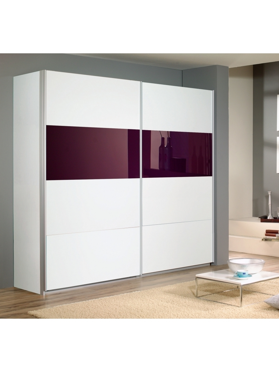 Wardrobes With 2 Sliding Doors For Recent Quadra Sliding Door Wardrobe 2 Doors W136Cm – Rauch Furniture (View 14 of 15)