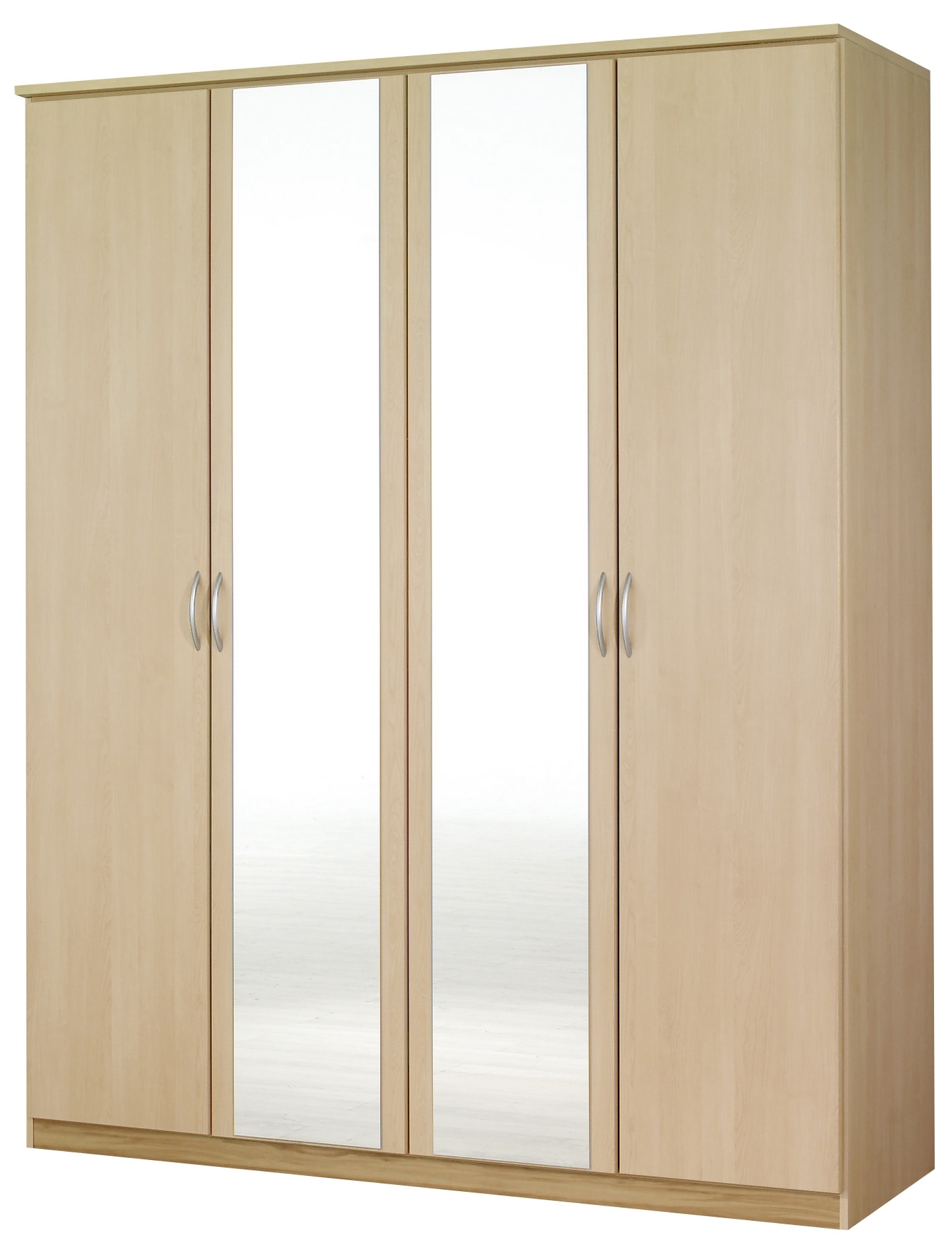 Wardrobes With 4 Doors With Famous Kent 4 Door Wardrobe – € (View 14 of 15)