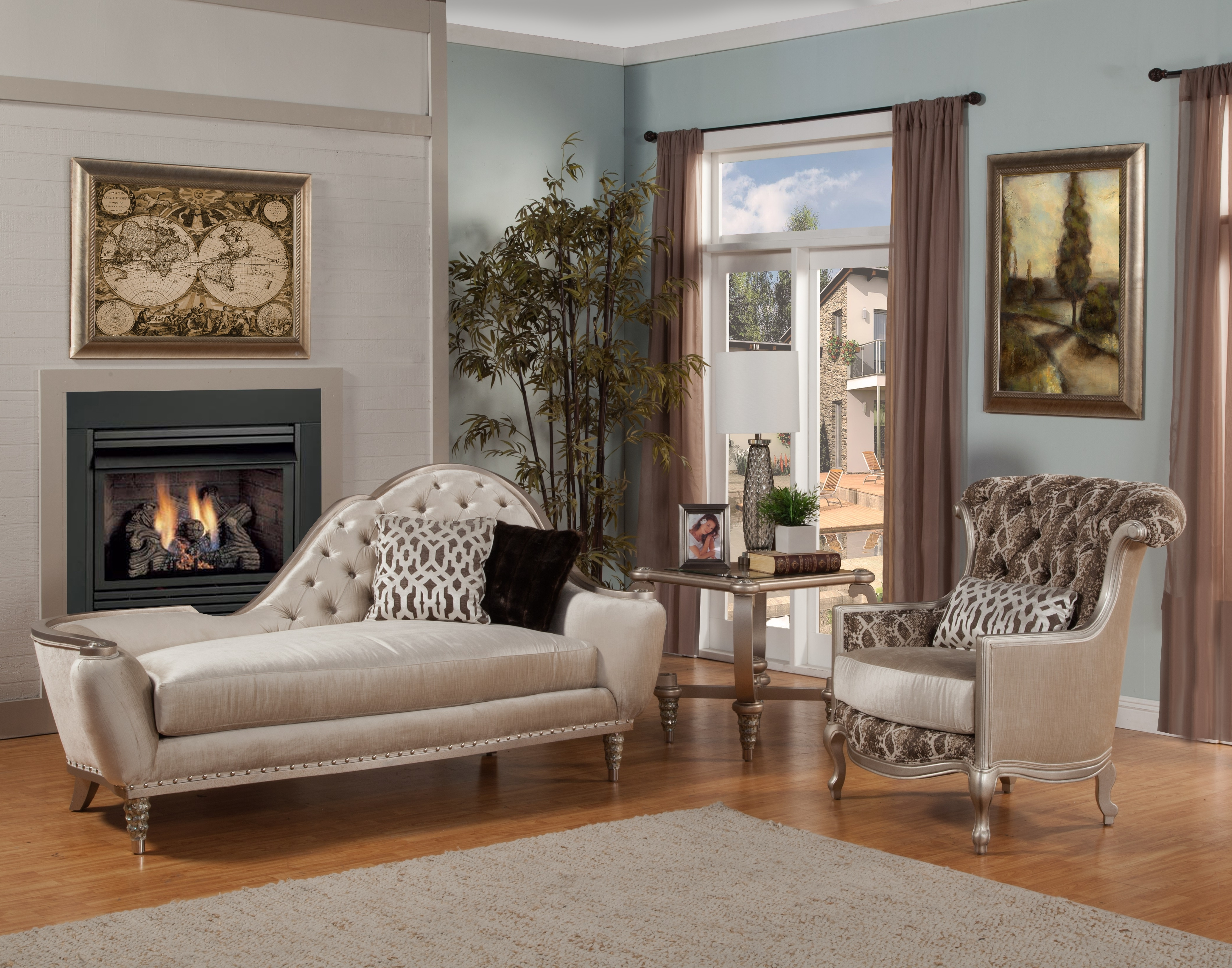 Well Known Accent Chaises With Regard To Benetti's Italia (View 9 of 15)