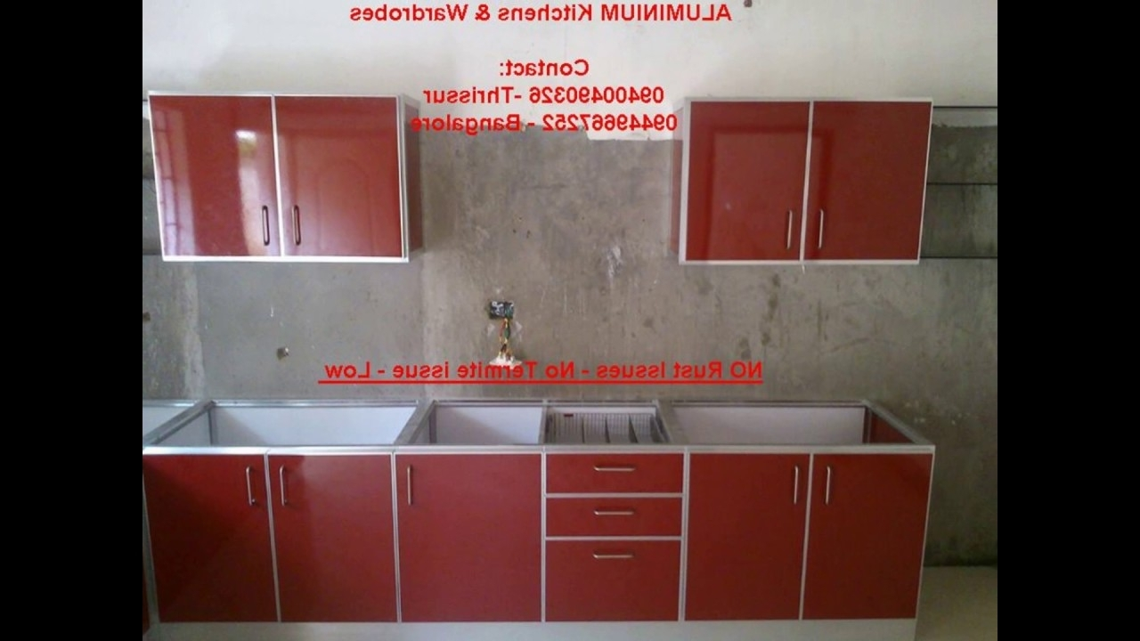Well Known Aluminium Kitchen Kerala Call 9400490326 ( Low Cost) Aluminum With Regard To Low Cost Wardrobes (View 12 of 15)