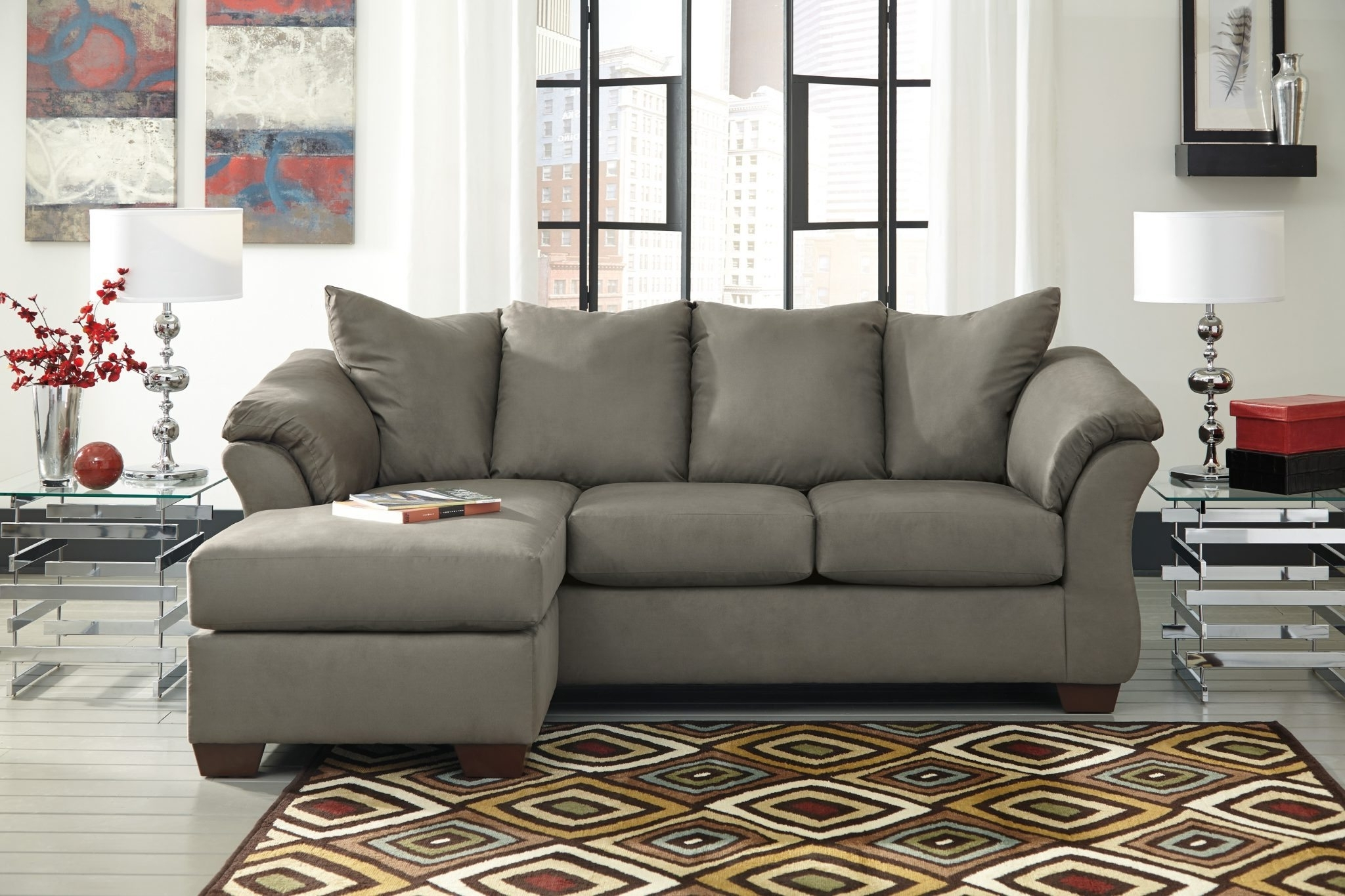 Featured Photo of Ashley Furniture Chaise Sofas