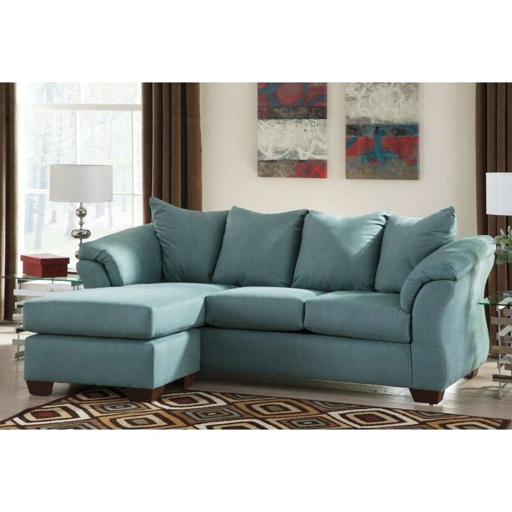 Well Known Ashley Furniture Darcy Sofa Chaise In Sky (View 13 of 15)
