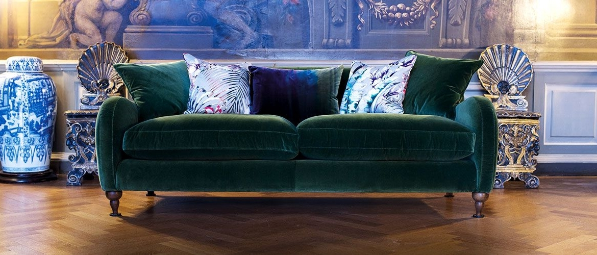 Well Known Beautiful British Handmade Velvet Sofas Projects To Try (View 3 of 10)