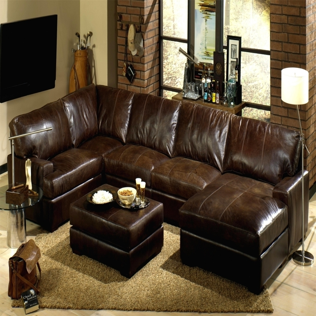 Well Known Black Leather Sectionals With Chaise With Regard To Sectional Couch With Recliner Ikea Couch Bed Large Leather (View 15 of 15)