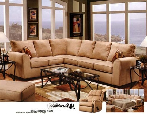 Well Known Camel Colored Sectional Sofas Within Sectional Sofa (View 7 of 10)