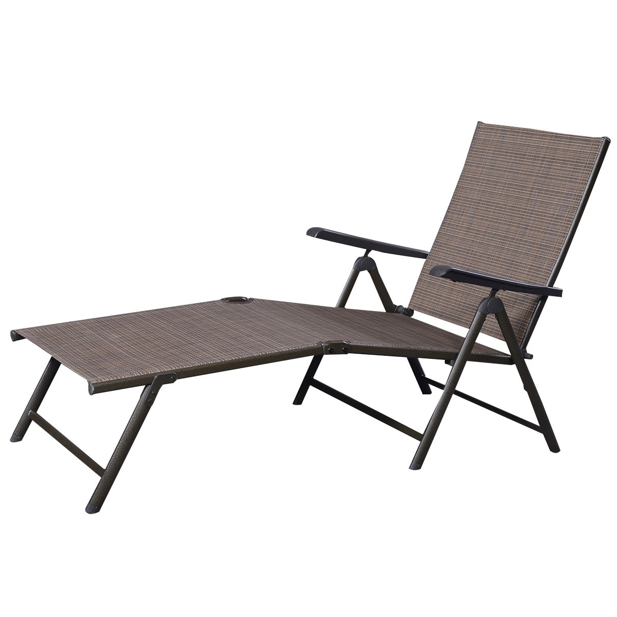 Well Known Chaise Lounge Reclining Chairs For Outdoor Inside Outdoor Adjustable Chaise Lounge Chair – Sunloungers – Outdoor (View 14 of 15)