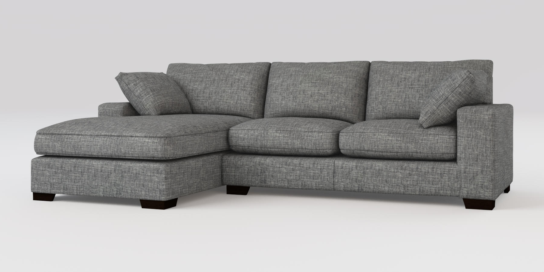 Well Known Corner Chaises With Regard To Buy Sonoma Ii Corner Chaise – Right Hand (4 Seats) Boucle Weave (View 14 of 15)
