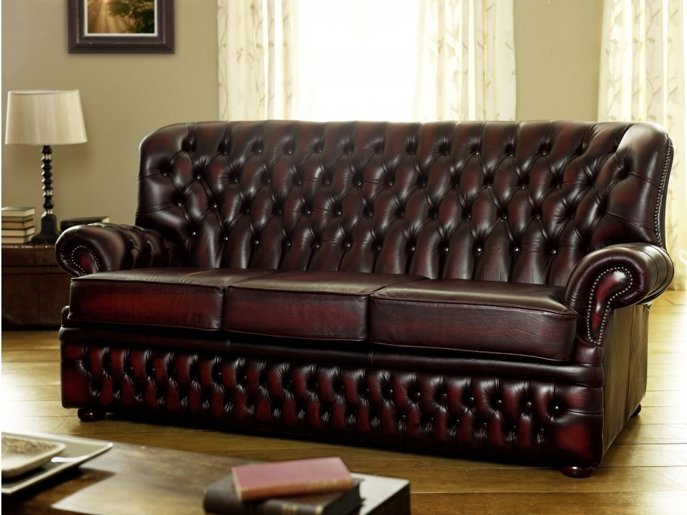 Well Known Craigslist Leather Sofas With Regard To Stunning Craigslist Leather Sofa Vintage Chesterfield Sofa (View 9 of 10)