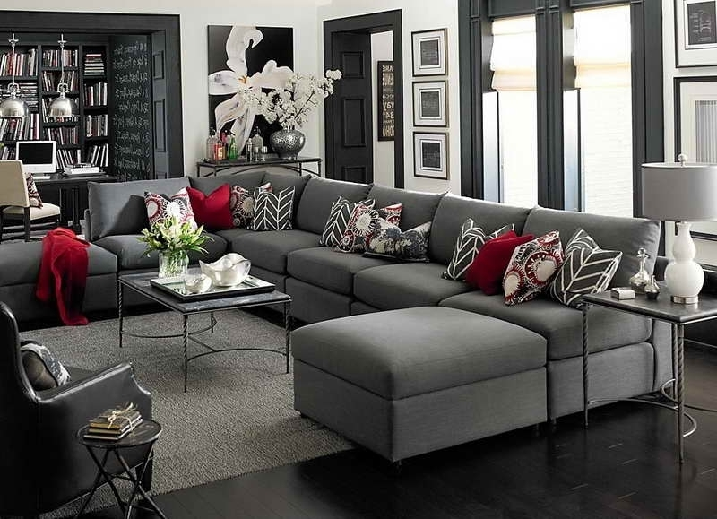 Well Known Extra Large U Shaped Sectionals Regarding Sofa Beds Design: Interesting Unique Large U Shaped Sectional (View 9 of 10)
