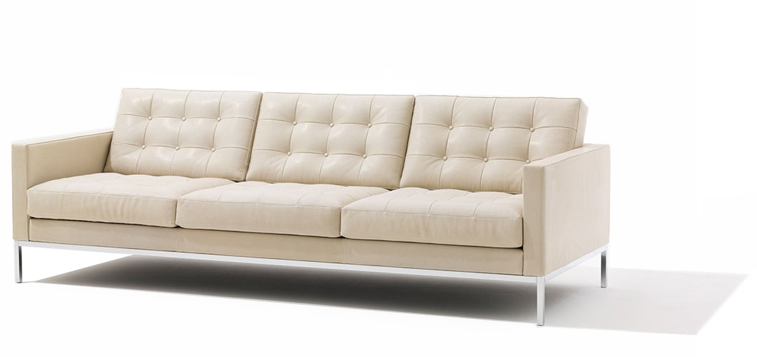 Well Known Florence Knoll Relaxed Sofa And Settee (View 8 of 10)
