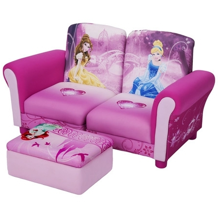 Well Known Found It At Wayfair – Disney Princess Kids Sofa And Ottoman Throughout Disney Sofa Chairs (View 10 of 10)