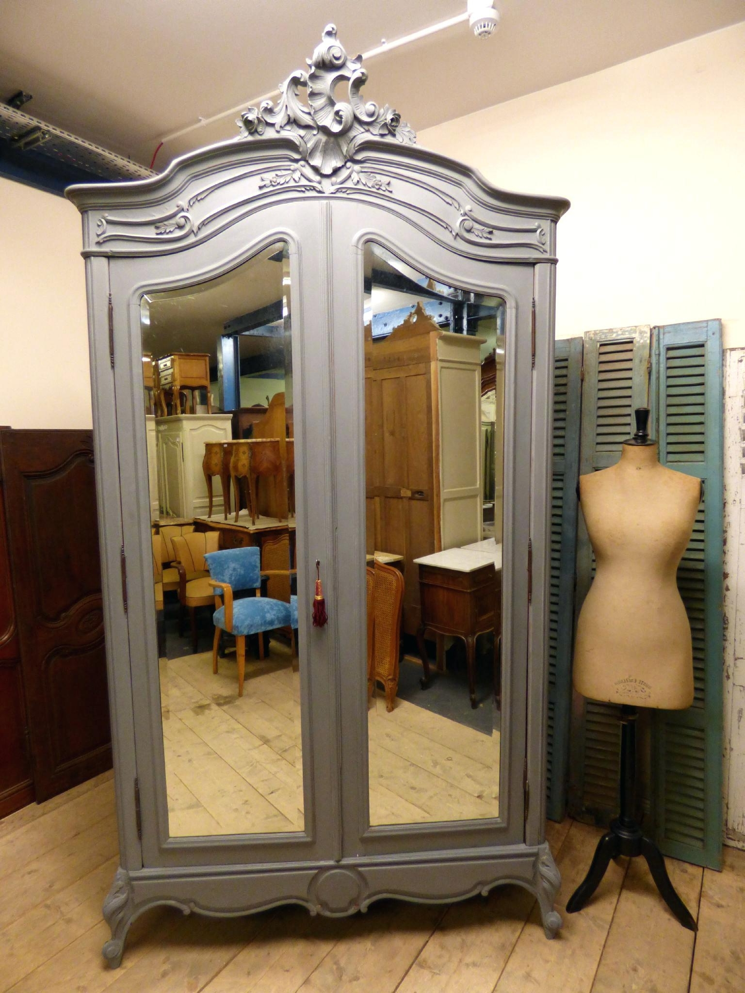 Well Known French Armoire – Blahblahfire With Antique French Wardrobes (View 13 of 15)
