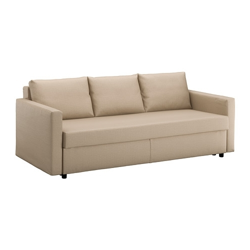 Well Known Friheten Sleeper Sofa – Skiftebo Beige – Ikea For Ikea Loveseat Sleeper Sofas (View 6 of 10)