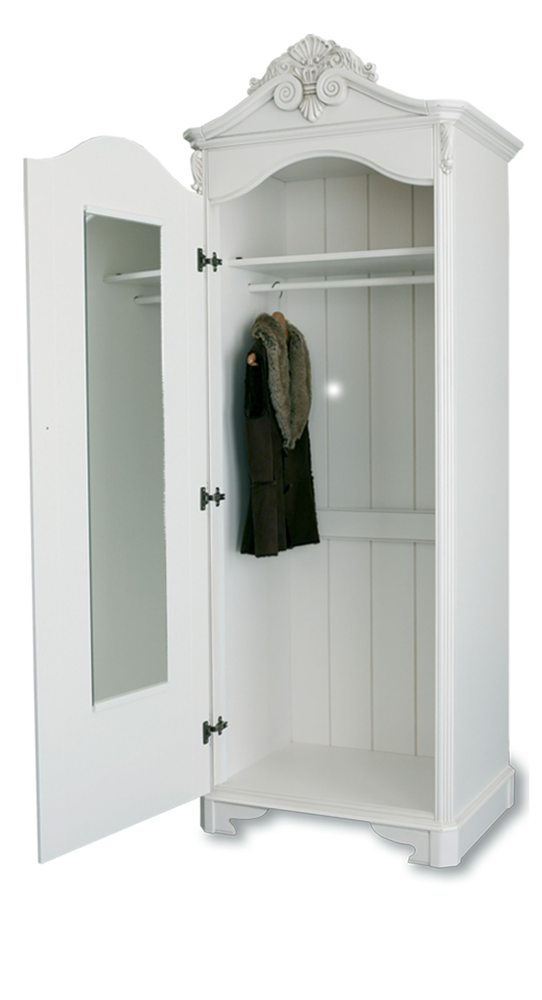 Well Known Furniture For Modern Living – Furniture For Modern Living With Single White Wardrobes (View 6 of 15)