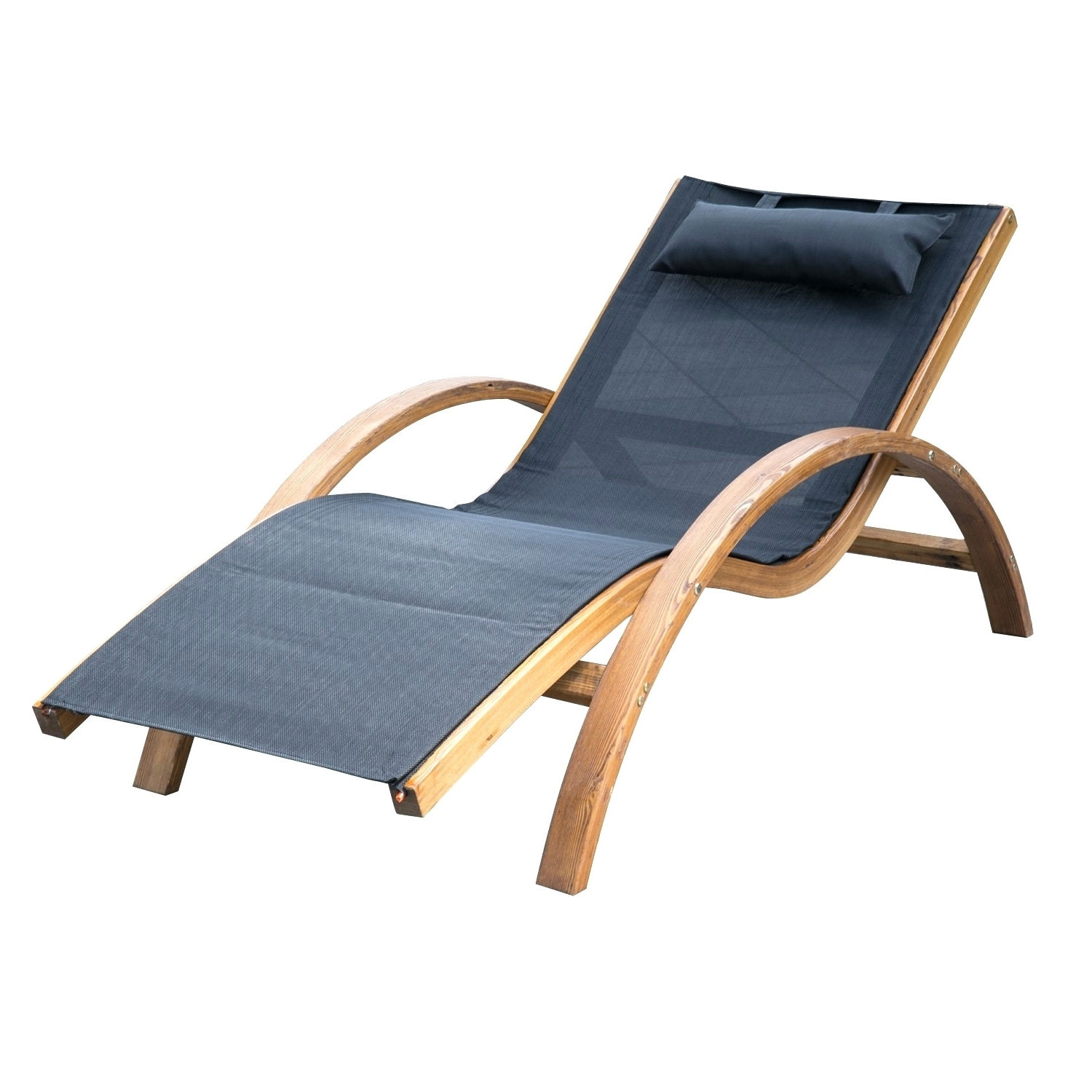Well Known Green Resin Chaise Lounge Chairs With Regard To Outsunny Outdoor Mesh Lounger With Cushion Black Green Resin (View 8 of 15)