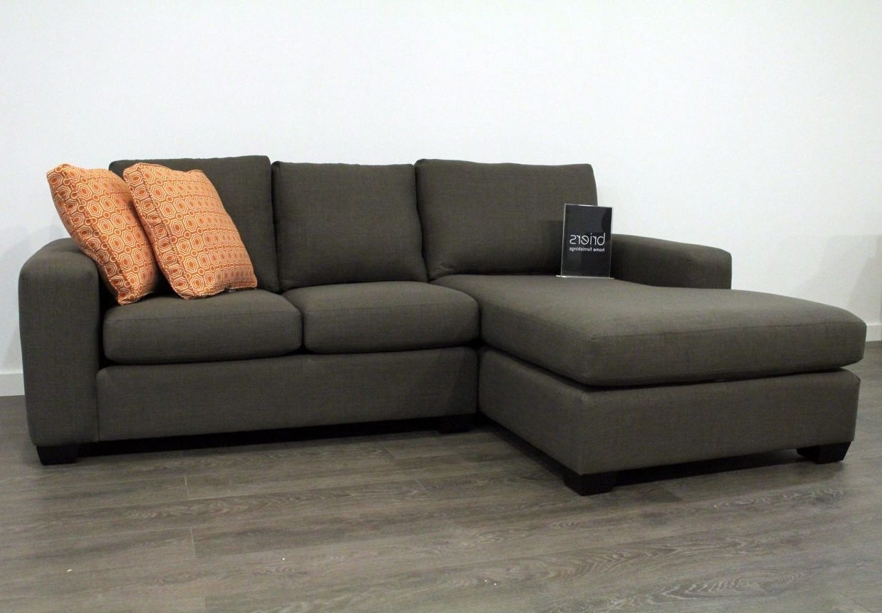 Well Known Grey Sofas With Chaise Throughout Modern Sofa Chaise Sectional  Unique Gray Fabric With L