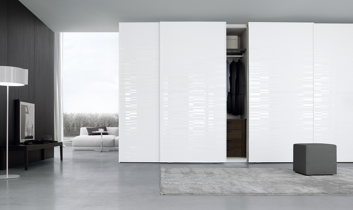 Well Known High Gloss Sliding Wardrobes Throughout Beautiful High Gloss White Sliding Wardrobe Doors – Badotcom (View 14 of 15)