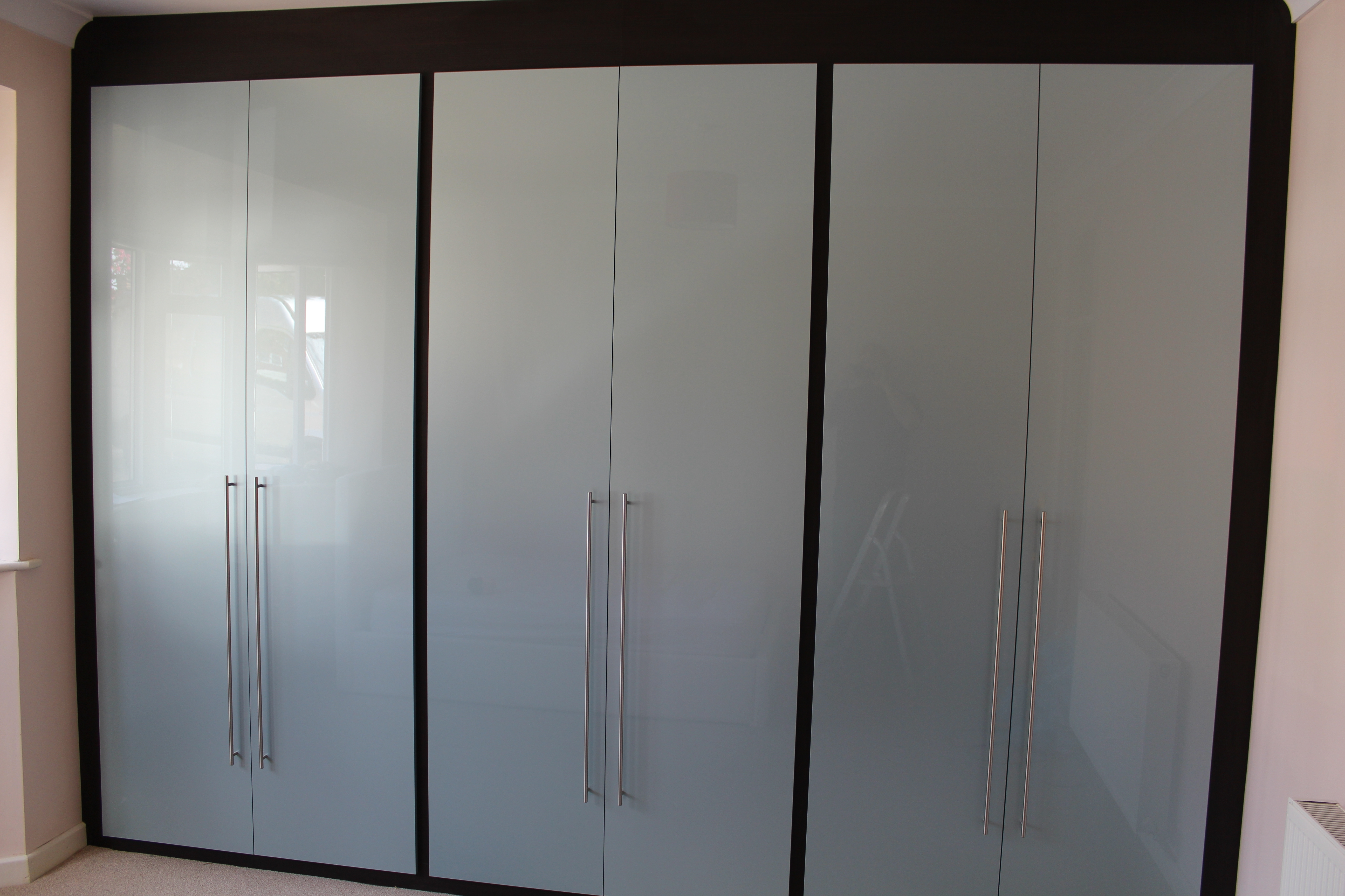 Well Known High Gloss White Sliding Wardrobe Doors Fitted Wardrobes Cheap With Regard To Pink High Gloss Wardrobes (View 14 of 15)