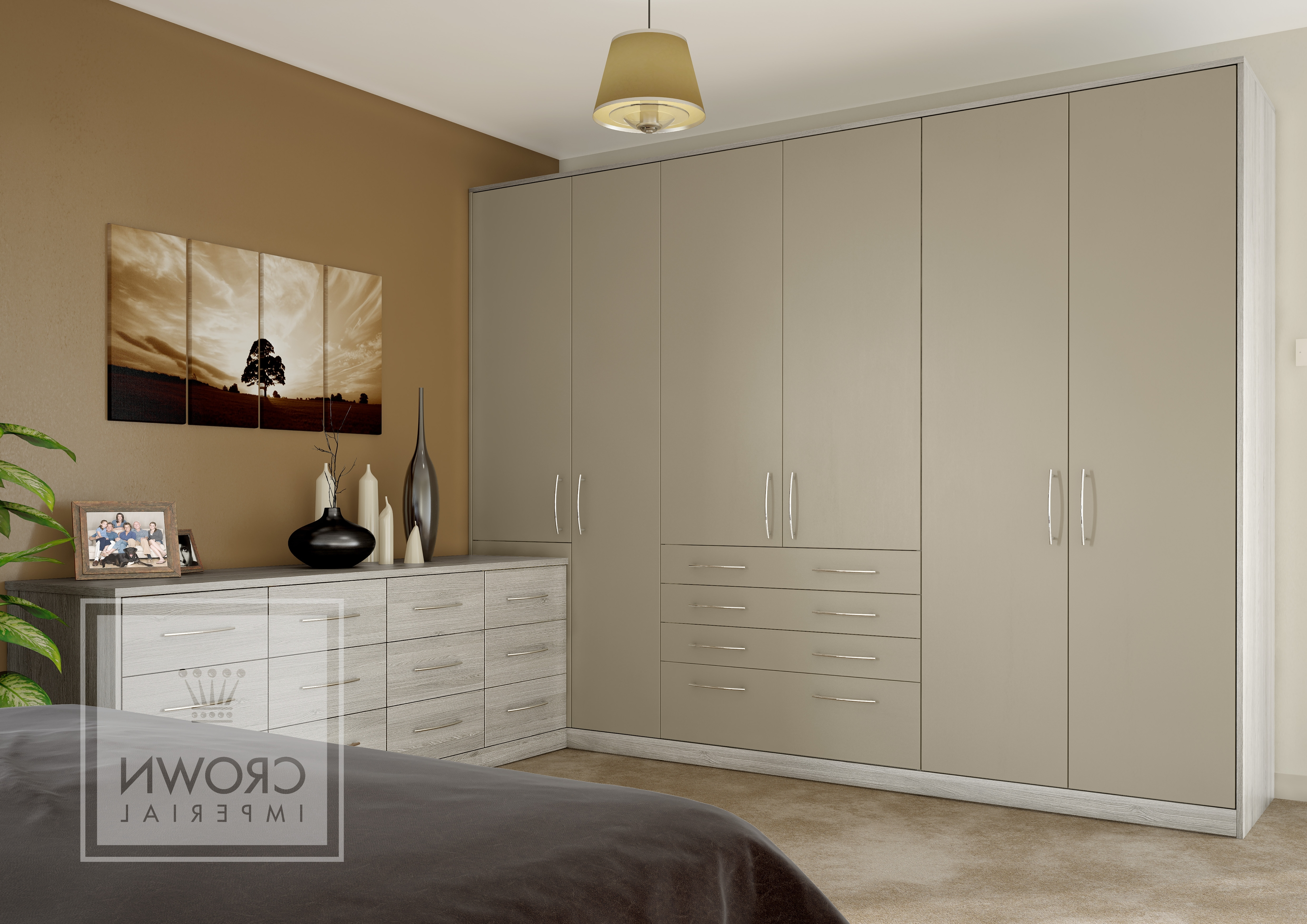 Well Known Imperial Wardrobes With Regard To Cmt Kitchens & Bedrooms – Crown Imperial Storage (View 14 of 15)