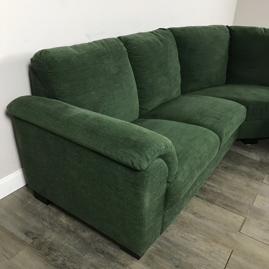 Well Known Incredible Green Sectional Sofa With Khaki Sectional Sofa Khaki For Green Sectional Sofas (View 10 of 10)