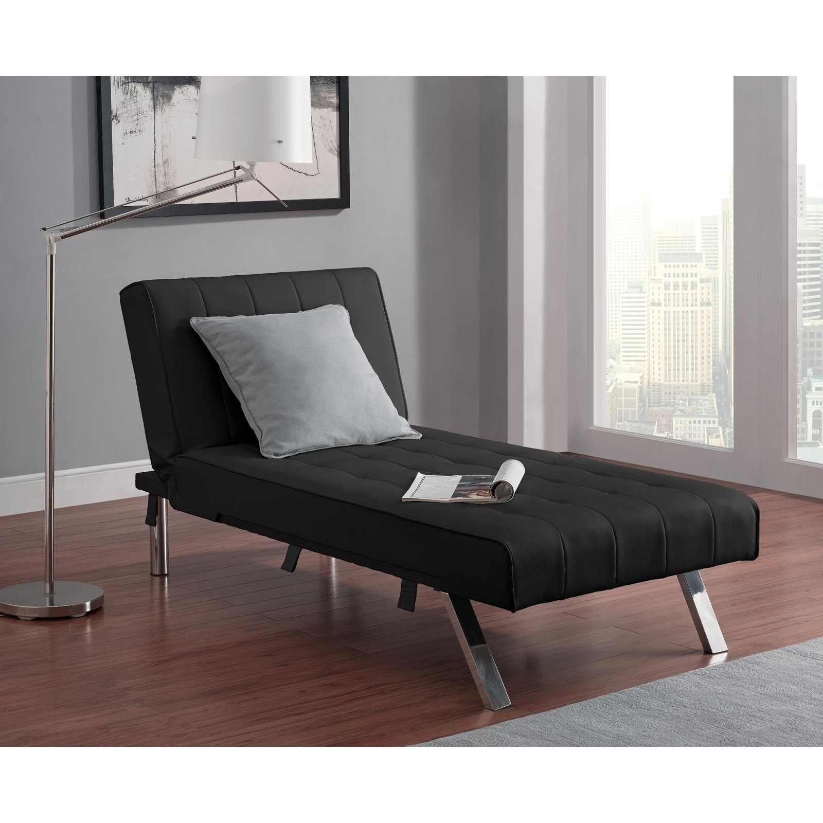 Well Known Indoor Chaise Lounges Intended For Furniture : Wonderful Indoor Chaise Lounge Under $100 Awesome Dhp (View 15 of 15)